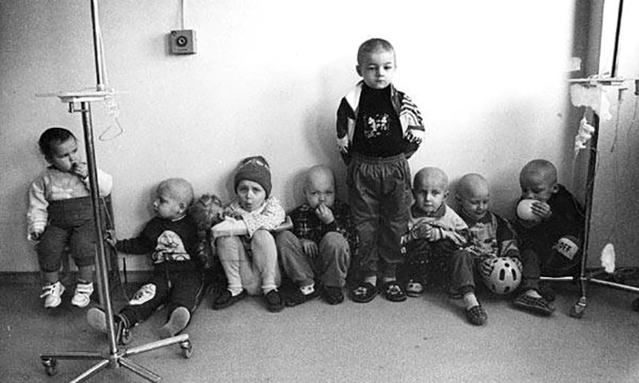Children of Belarus suffered various health problems.