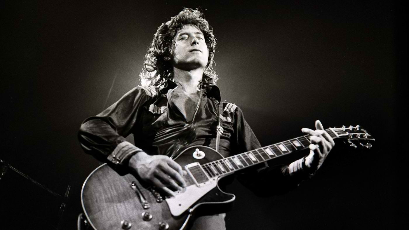 Jimmy Page and his involvement in dark arts